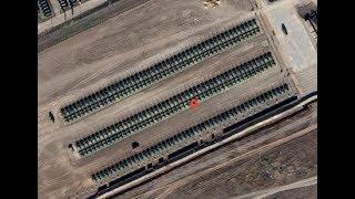 """РФ жорстко """"спалилася"""": Російські танки на кордоні з Україною потрапили на супутникові карти"""