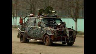 В Краснодаре появился прототип автомобиля из «Безумного Макса»