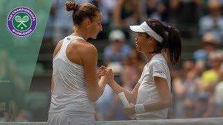 Karolina Pliskova vs Su-Wei Hsieh Wimbledon 2019 Third Round Highlights