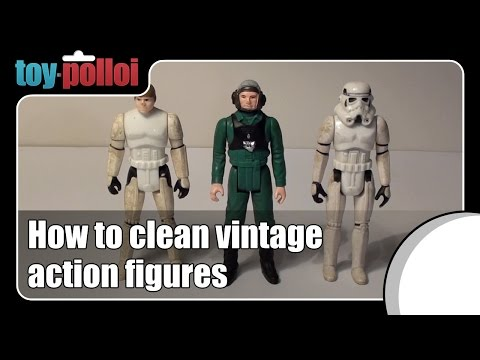 Fix it guide - Cleaning vintage action figures