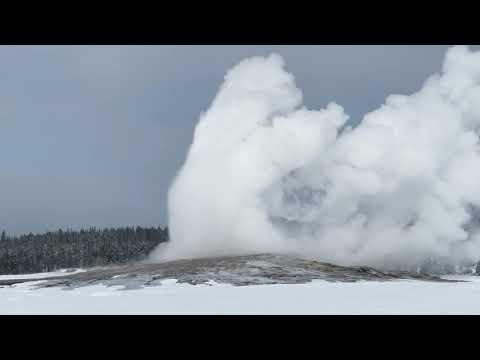 Yellowstone National Park, Winter 2021
