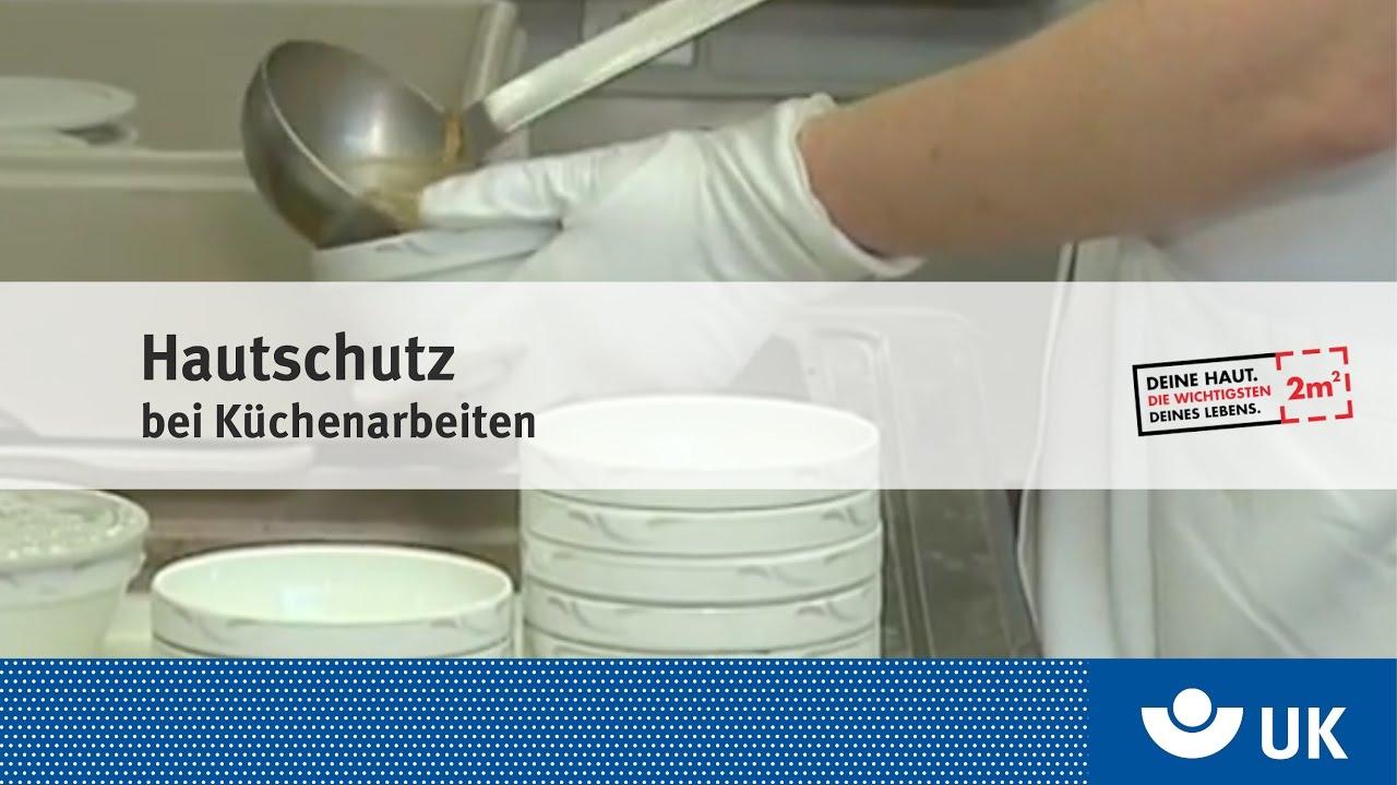 Hautschutz bei Küchenarbeiten - YouTube