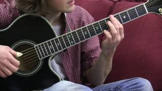 House at Pooh Corner Guitar Lesson - Pluck and Chuck Guitar Series Song #4