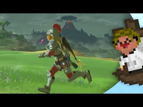 Passing time with the Hero of time! -🗡️- LoZ Breath of the Wild: Master Edition