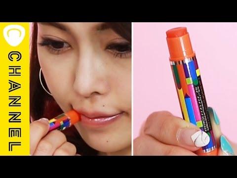 クーピー柄!シアーカラーリップ塗り比べ♡ │ Sheer Lips Review