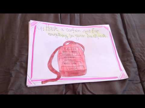 GLS: organization paper slide video