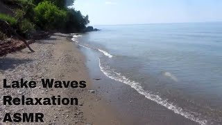 🎧 ASMR Relaxing Lake Ontario Waves - Nature Sounds At The Beach - Sleep Relaxation, Meditation