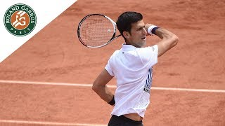 Novak Djokovic v Marcel Granollers Highlights - Men's First Round 2017 | Roland-Garros