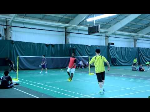 2012 Baltimore Badminton Charity Open Men's Double Div-A Final