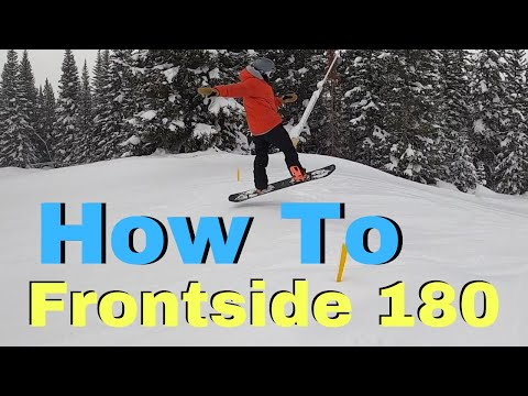 How To 180 On A Snowboard | Beginner Guide