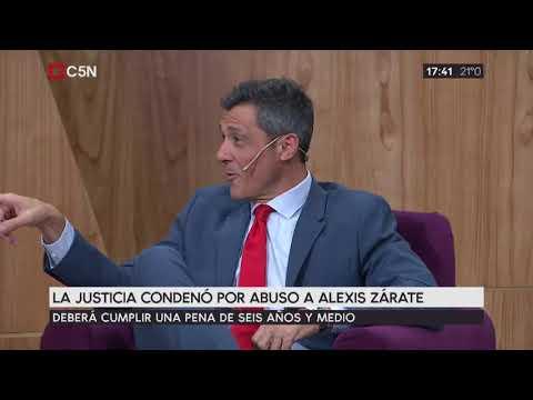 La justicia condenó por abuso a Alexis Zárate