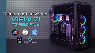 Thermaltake View 71 TG RGB Plus and View 21 TG RGB Plus Introduction