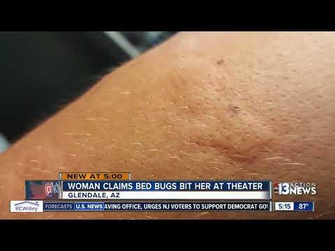 Woman says Arizona movie theater has bed bugs