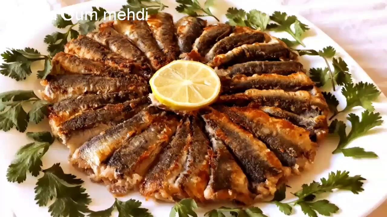 اسرع طريقة قلي سمك السردين ب 2 ملاعق من الزيت فقط مقرمش و لذييييد بزاف و سريع التحضير Youtube