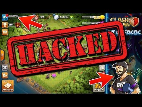 JE ME SUIS FAIT PIRATER !!!   Clash of Clans Hacker