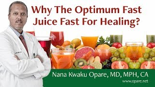 Why The Optimum Fast Juice Fast For Healing