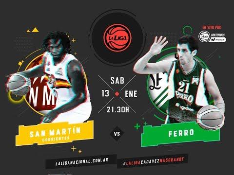Liga Nacional: San Martín vs. Ferro | #LaLigaEnTyCSports