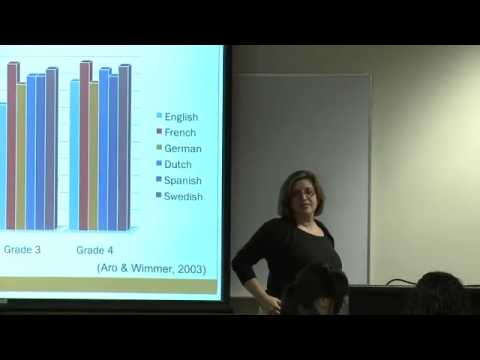 Educ 151. Lec 07. Language And Literacy: Understanding English Orthography, Part I