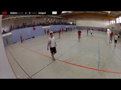 Indoor Deutsche Meisterschaft 1. Liga 2014: Herren Finale Heidees vs Zamperl