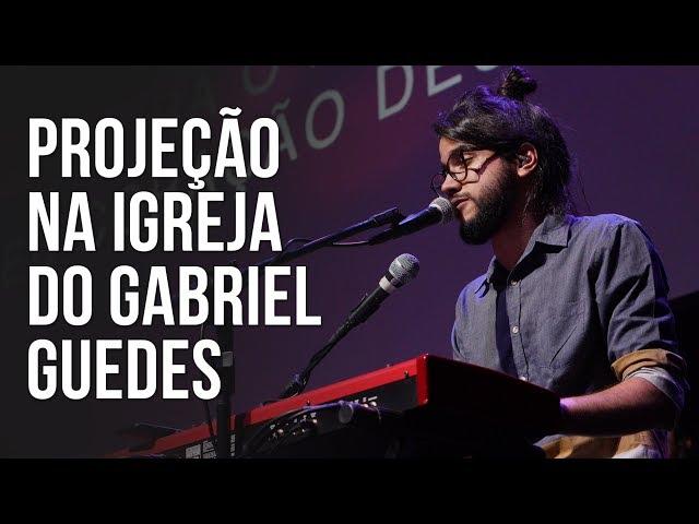 Projeção na igreja do Gabriel Guedes [ Igreja Multimídia ]