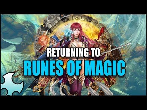 """Returning to Runes of Magic """"Starting Fresh in 2017"""""""