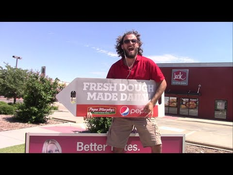 Insane Papa Murphy's Sign Spinner Of Edmond Oklahoma!!!