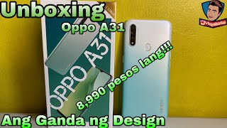 Oppo A31 Unboxing - Filipino | First Impressions | Triple Camera |