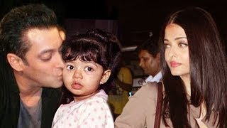 Watch - Salman Holding Aishwarya's Daughter Aaradhya - Story Revealed