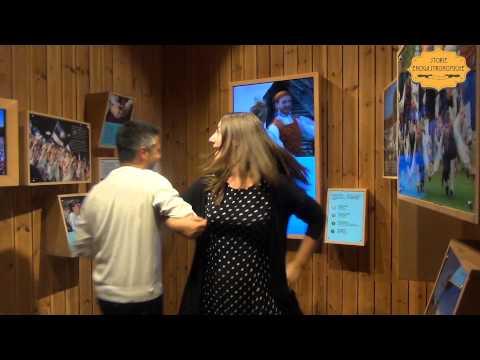 Imparare danze sfrenate a Expo: padiglione Estonia
