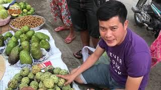 Tâm xe ôm quá vui trong lần đầu theo Khương Dừa đi ăn đặc sản chợ quê ngon, bổ, rẻ!!!!
