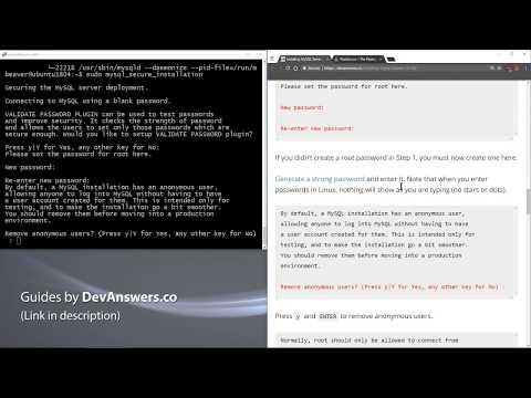 Installing MySQL Server on Ubuntu 18 04 | DevAnswers co