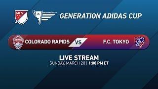 Generation adidas 2016 | Colorado Rapids vs. FC Tokyo