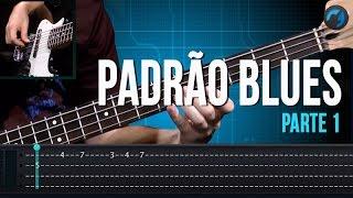 Padrão Blues - Parte 1 (aula técnica de contra-baixo)