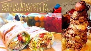 Chicken Shawarma/Shawerma/Tower/Garlic Sauce/Toum/Thoom at Home. screenshot 5