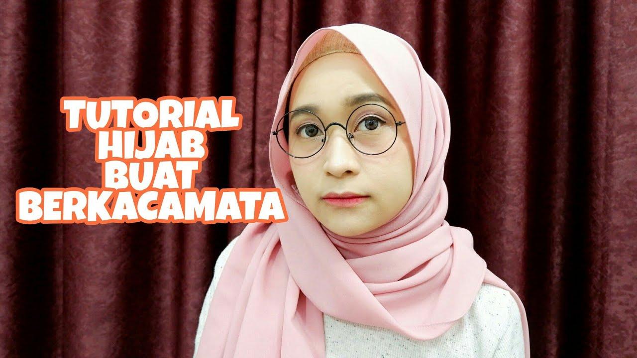 5 Tutorial Hijab Pashmina Buat Yang Berkacamata Youtube