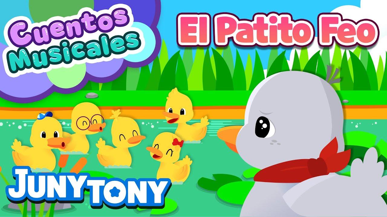 🦢❗El Patito Feo | Cuentos Musicales | Patito o Cisne, ¿Quién es? | Andersen | Juny Tony en español