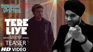'Tere Liye' Song TEASER | Dilliwaali Zaalim Girlfriend | T-Series