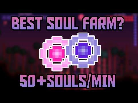 50 SOULS PER MINUTE! Terraria 1.3.5 Soul Farm!   Easier With Fargos Mod  