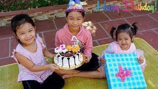 Trò Chơi Chúc Mừng Sinh Nhật Bé - Bé Nhím TV - Đồ Chơi Trẻ Em Thiếu nhi