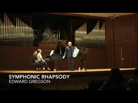 STEVEN MEAD - LIVE EUPHONIUM RECITAL At Baylor University 28-3-18