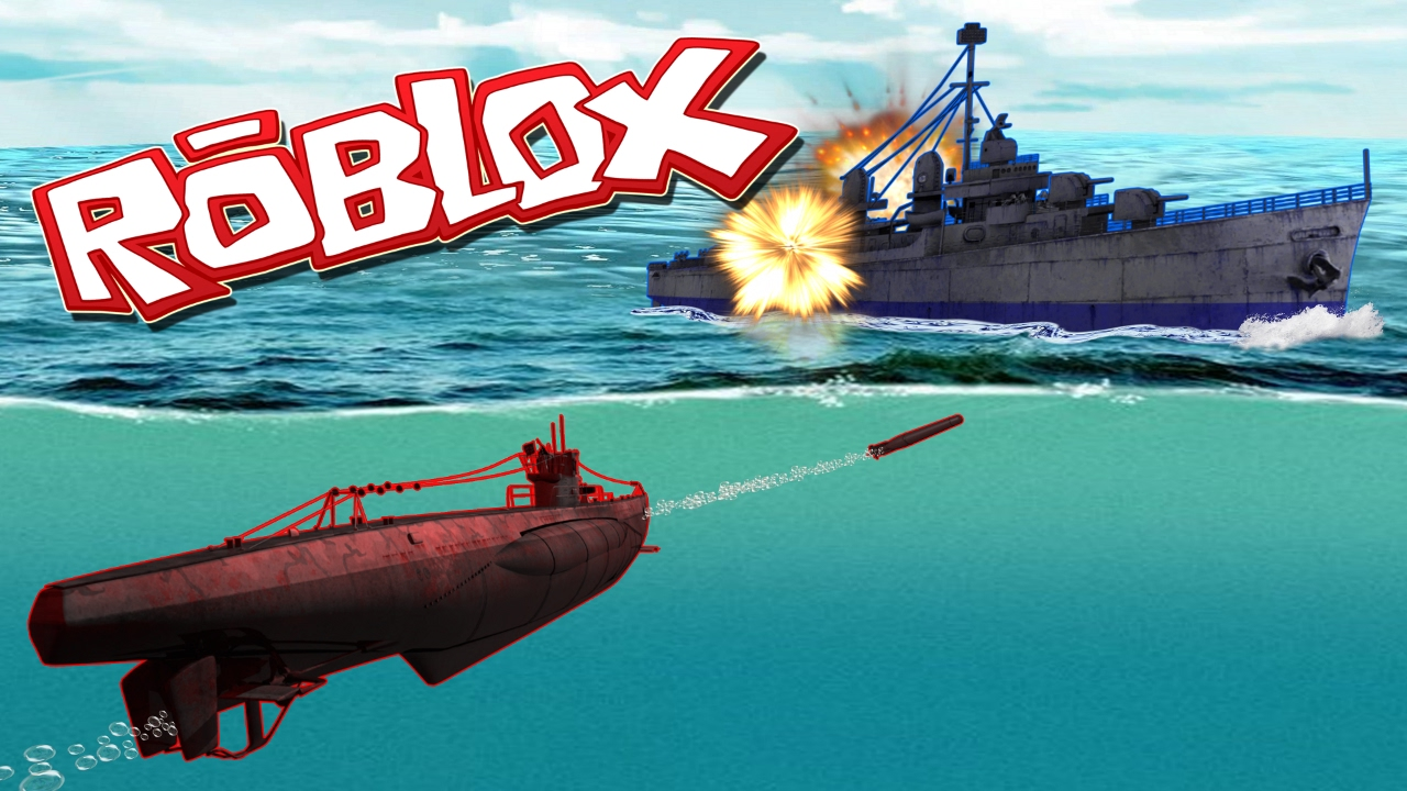 RED VS BLUE SUBMARINE WAR! (Roblox Navy