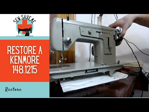 Let's Service a Vintage Sewing Machine