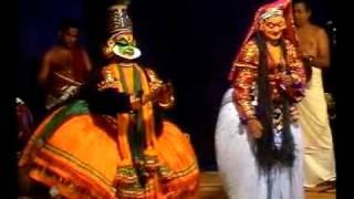 ദുര്യോധനവധം കഥകളിയിലെ പരിപാഹി മാം.. എന്ന പ്രസിദ്ധമായ പദം. പാഞ്ചാലി ...