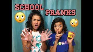5 BACK TO SCHOOL PRANKS!!