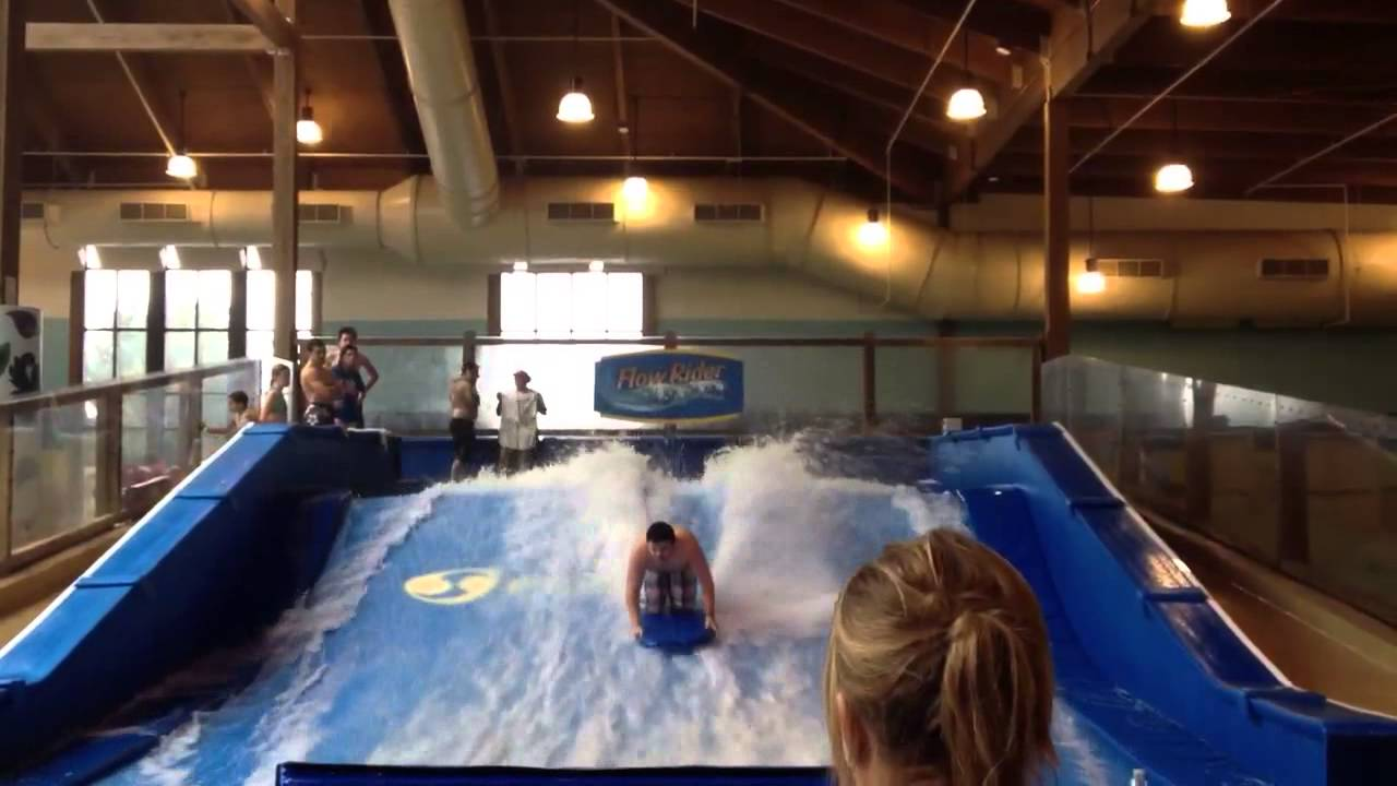 Soaring Eagle Waterpark Flow Rider Youtube