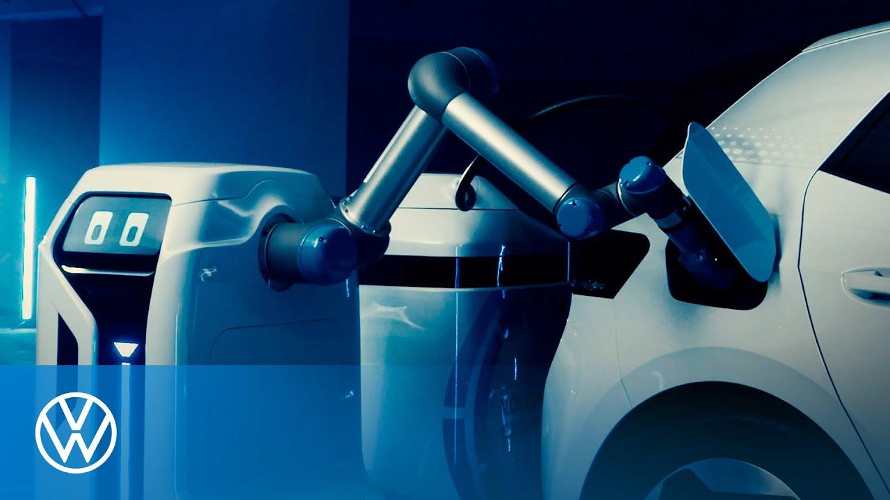 Volkswagen Rilis Robot Pengisi Daya Kendaraan Listrik