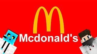 Minecraft Şehir Yapıyorum Bölüm 1 - McDonalds