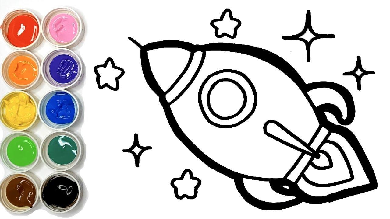 Dessiner Une Fusée Pour Bébé Coloriage Pour Enfants
