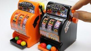 Halloween Slot Gumball Machine ~ ハロウィン スロット ガムボールマシン