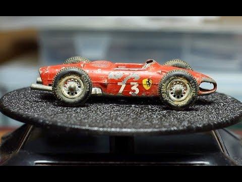 MATCHBOX Restoration No 73 Ferrari F1 Race Car 1962